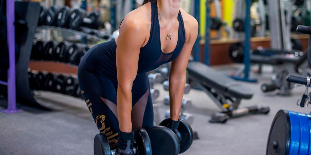 Становая тяга с гантелями – польза упражнения, техника