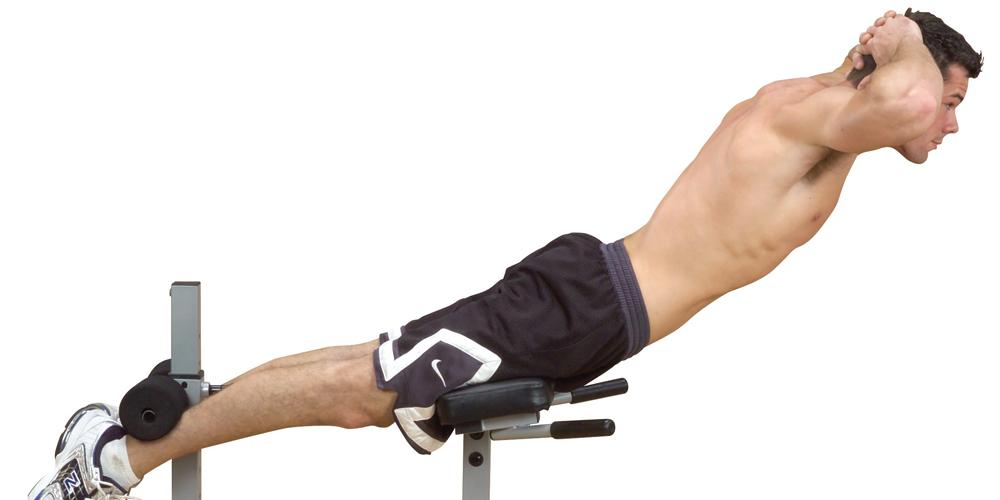 Тренировка гиперэкстензия